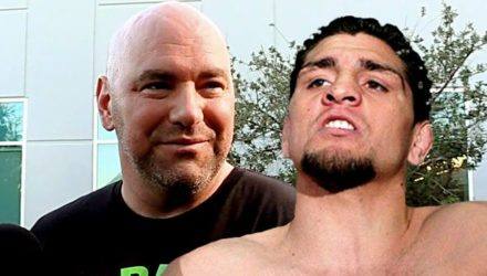 Dana White and Nick Diaz