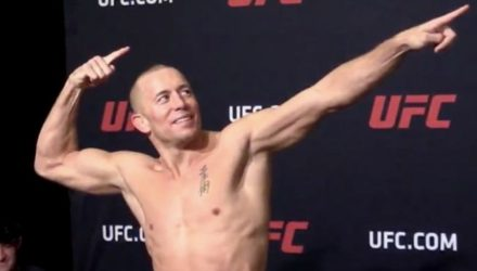 Georges St-Pierre UFC 217 weigh