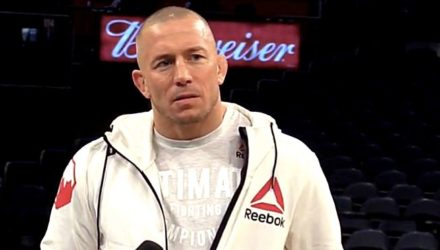 Georges St-Pierre Workout Interview