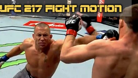 Georges St-Pierre vs Michael Bisping UFC 217 Fight Motion