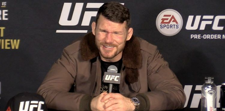 Michael Bisping UFC 217 post