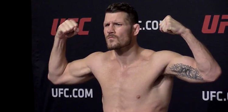 Michael Bisping UFC 217 weigh-in