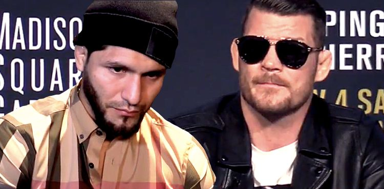 Michael Bisping and Jorge Masvidal UFC 217