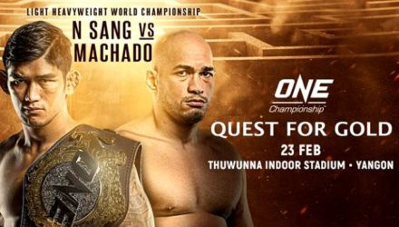 ONE Quest for Gold Fight Poster