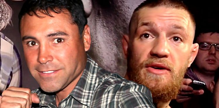 Oscar De La Hoya over Conor McGregor