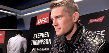 Stephen Thompson UFC 217 Media Day