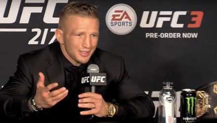 TJ Dillashaw UFC 217 post