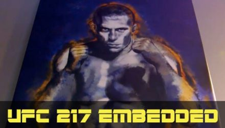 UFC 217 Bisping vs St-Pierre Embedded Ep3