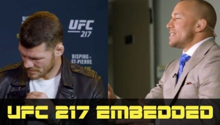 UFC 217 Bisping vs St-Pierre Embedded Ep6
