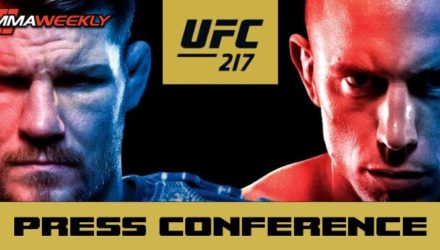 UFC 217 Bisping vs St-Pierre Post Press Conference