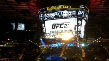 UFC 217 - Madison Square Garden - overhead