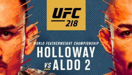 UFC 218 Holloway vs Aldo 2