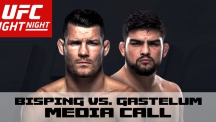 UFC Bisping vs Gastelum Media Call