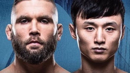UFC Fight Night 124 Poster - Stephens vs Choi