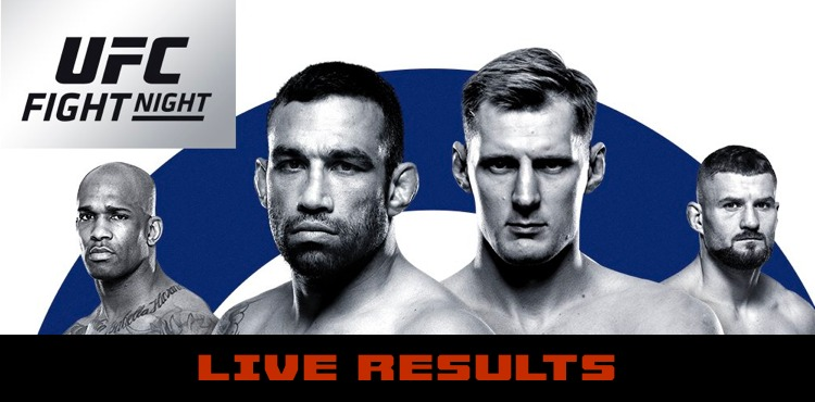UFC Fight Night 172 London Results