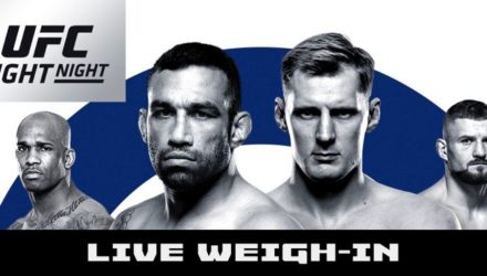 UFC London Live Weigh-in