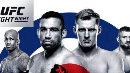 UFC Fight Night 127 London Fabricio Werdum vs. Alexander Volkov Fight Poster