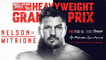 Bellator 194 Nelson vs Mitrione Fight Poster