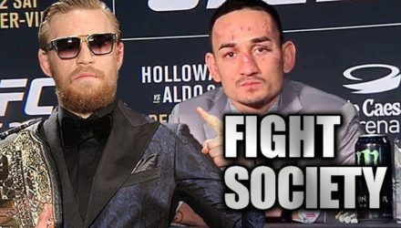 Conor McGregor and Max Holloway - Fight Society