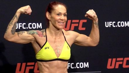Cris Cyborg UFC 219 weigh-in