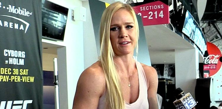 Holly Holm UFC 219 Media Day