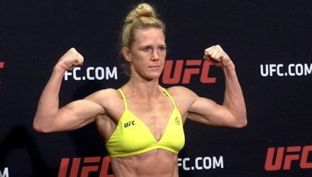 Holly Holm UFC 219 weigh-in