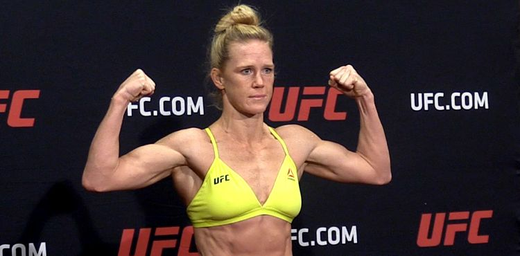 Holly Holm vs. Aspen Ladd Scrapped from UFC 235 ...