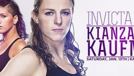 Invicta FC 27 Kianzad vs Kaufman Fight Poster