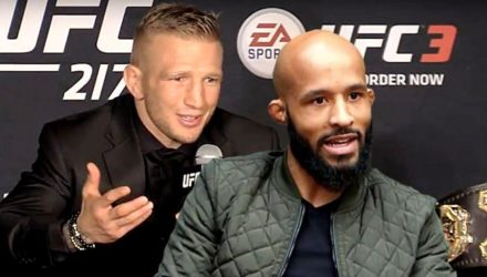 TJ Dillashaw and Demetrious Johnson