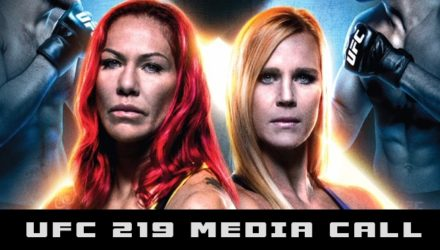 UFC 219 Cyborg vs Holm Media Call