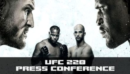 UFC 220 Press Conference