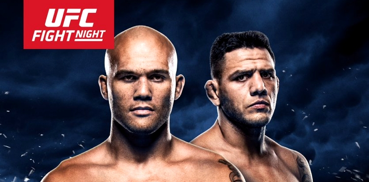 UFC on FOX 26 Lawler vs dos Anjos Fight Poster