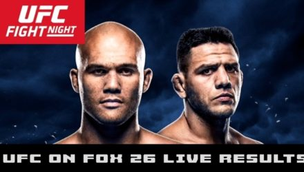 UFC on FOX 26 Lawler vs dos Anjos Live Results