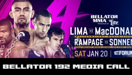 Bellator 192 Lima vs MacDonald Media Call