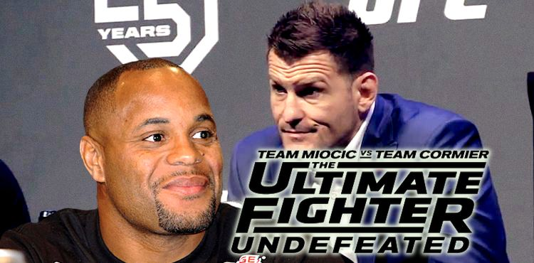 Daniel Cormier and Stipe Miocic - TUF 27 Logo
