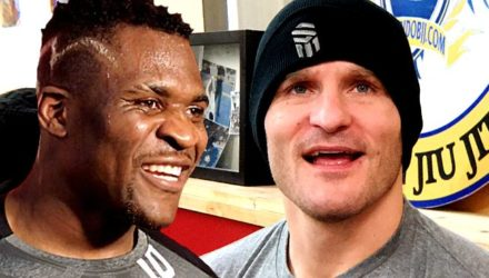 Francis Ngannou and Stipe Miocic