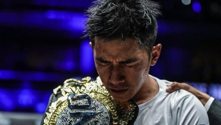 Geje Eustaquio ONE Global Superheroes Belt