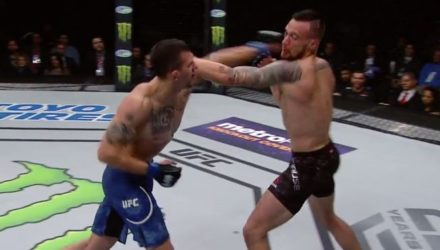 James Krause UFC St Louis Fight Highlights