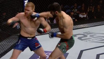 Marco Polo Reyes UFC St Louis Fight Highlights