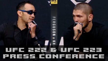 UFC 222 and UFC 223 Press Conference