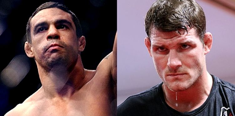 Vitor Belfort and Michael Bisping - serious