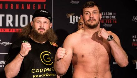 Bellator 194 Roy Nelson vs Matt Mitrione weigh-in