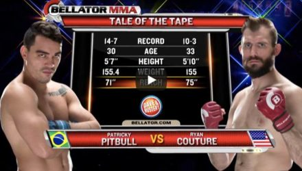 Bellator Patricky Pitbull vs Ryan Couture