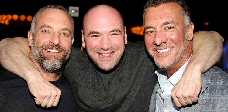 Lorenzo Fertitta - Dana White - Frank Fertitta