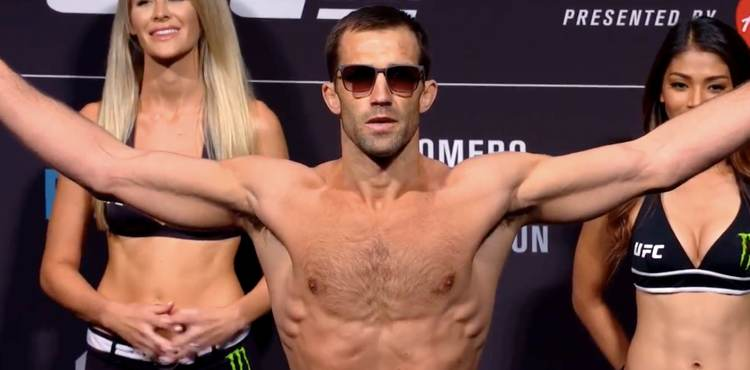 Luke Rockhold UFC 221 weigh-in