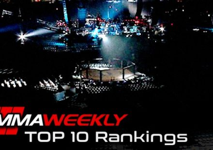 MMAWeekly MMA Top 10 Rankings
