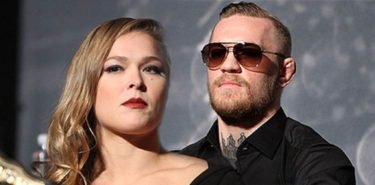 Ronda Rousey and Conor McGregor