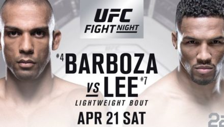 UFC Fight Night 128 Edson Barboza vs Kevin Lee