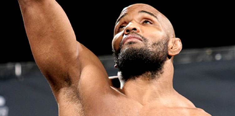 Yoel Romero Weigh-in Arm to Sky