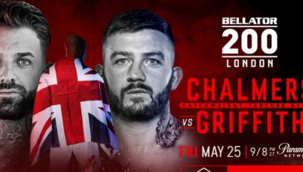 Bellator 200 - Chalmers vs Griffiths Fight Poster